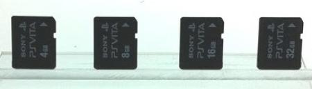 Для PS Vita разработаны новые карты памяти