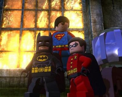 Скриншоты Lego Batman 2