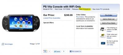 PS Vita поступит в продажу в Канаде 30 марта