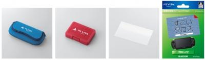 Elecom разработала свои аксессуары для PS Vita