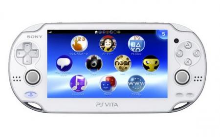 Белая PS Vita совсем скоро!