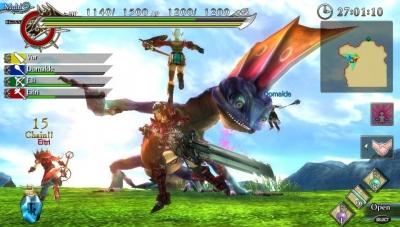Ещё немного скриншотов Ragnarok Odyssey