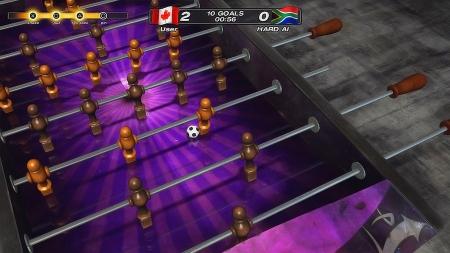 Скриншоты Foosball 2012
