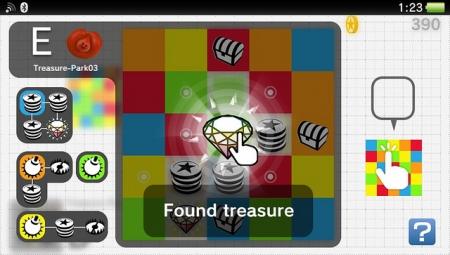 Treasure Park - новое бесплатное приложение для PS Vita