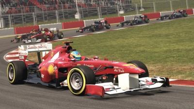 Новые скриншоты F1 2011