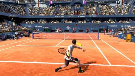 Virtua Tennis 4 возглавил чарт в Великобритании