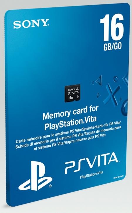 Упаковка карты памяти PS Vita