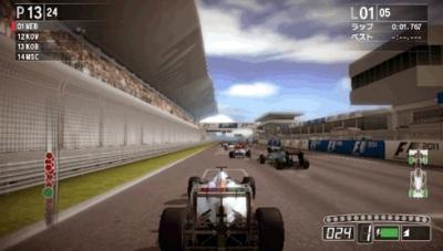 F1 2011: Сравнение скриншотов PS Vita и 3DS