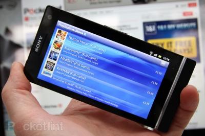 Смартфон Sony Xperia S получил поддержку PlayStation Store
